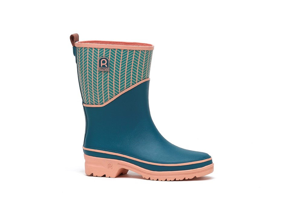 ACTIVE FEEL DEMI BOTTE TURQUOISE